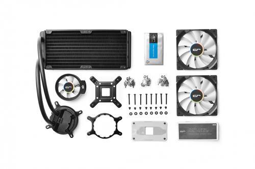 CRYORIG Launches A Series Hybrid Liquid Coolers AIO, asetek, cooling, CRYORIG 1