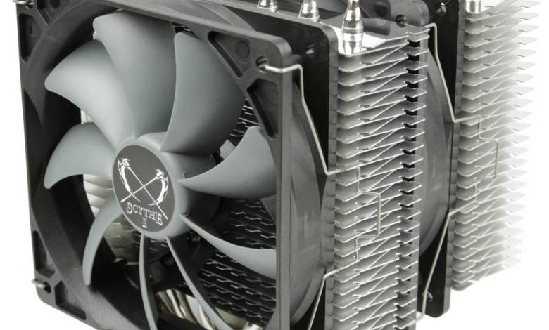 Photo of Twin-tower CPU Cooler Scythe FUMA Announced