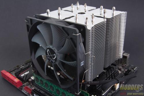 Scythe Ninja 4 CPU Cooler Review: All Hail the Kingslayer 120mm, 4770k, CPU Cooler, Haswell, heatsink, ninja 4, overclocking, Scythe 10