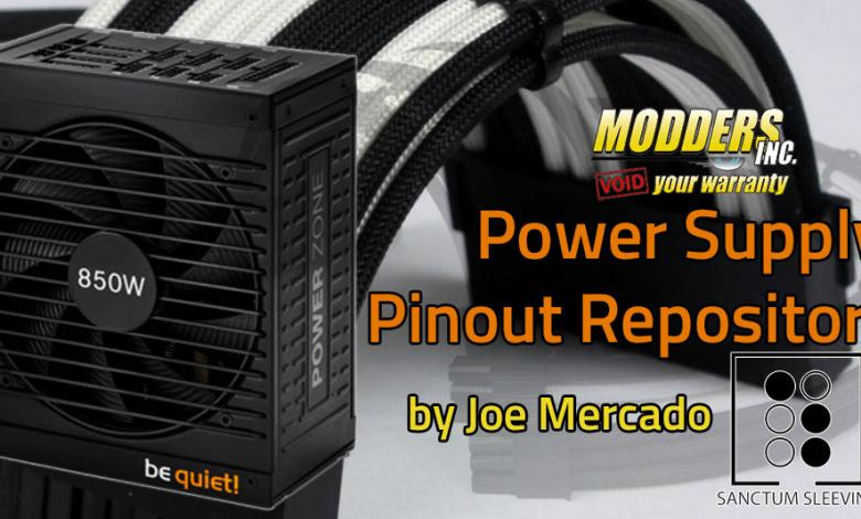 Photo of Power Supply Pinout Repository