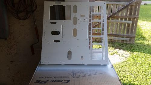 Harley Quinn Build - Part 1 casemod, core p5, harly quinn, nick blackwell, Thermaltake, worklog 6