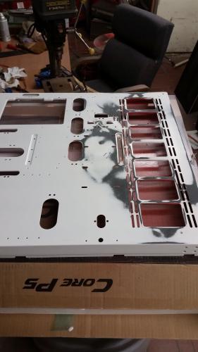 Harley Quinn Build - Part 1 casemod, core p5, harly quinn, nick blackwell, Thermaltake, worklog 8