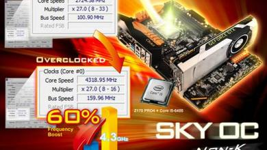 Photo of BIOS Update Enables Non-K Skylake CPU Overclocking