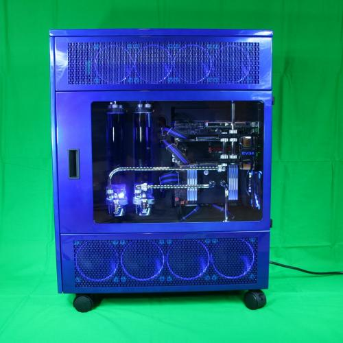 Featured Forum Worklog: Blue BAWLS by NavyChief bawls, casemod, feature, navychief, quakecon, worklog 9