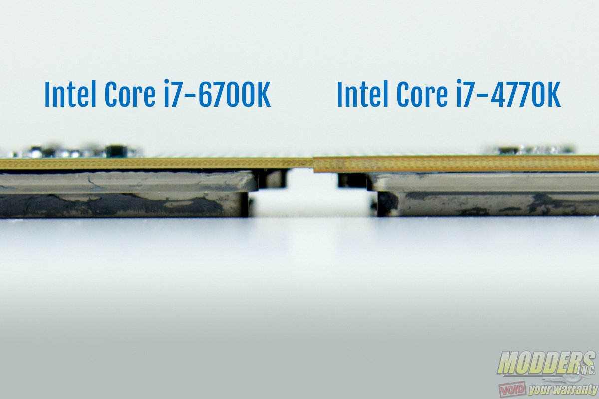 Thickness i7-6700K vs i7-4770K