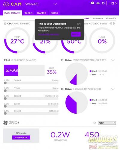 NZXT CAM 3.0 PC Monitoring Software Review monitoring, NZXT, NZXT CAM, software 2