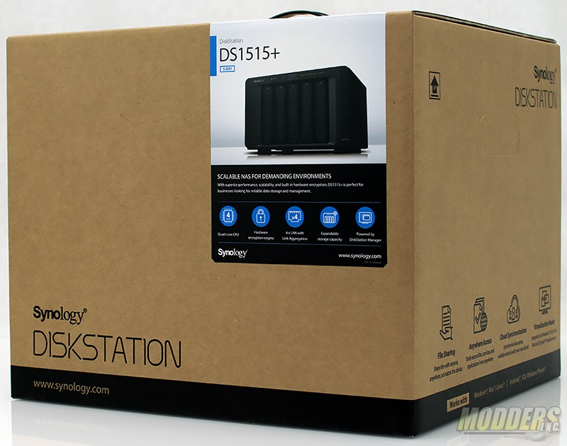 Synology DiskStation DS1515+ Network Attached Storage Review DSC 7544