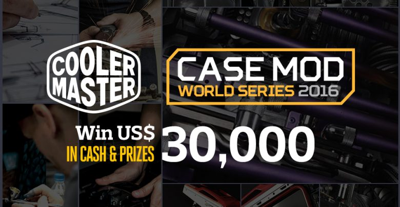 Photo of Cooler Master Case Mod World Series 2016 Announced