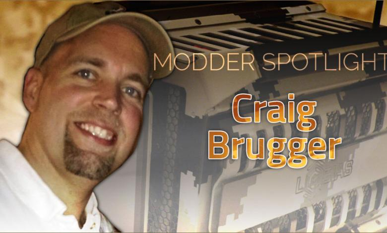 Photo of Modder Spotlight: Craig Brugger