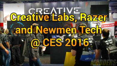 Photo of Creative Labs, Razer and Newmen Tech @ CES 2016