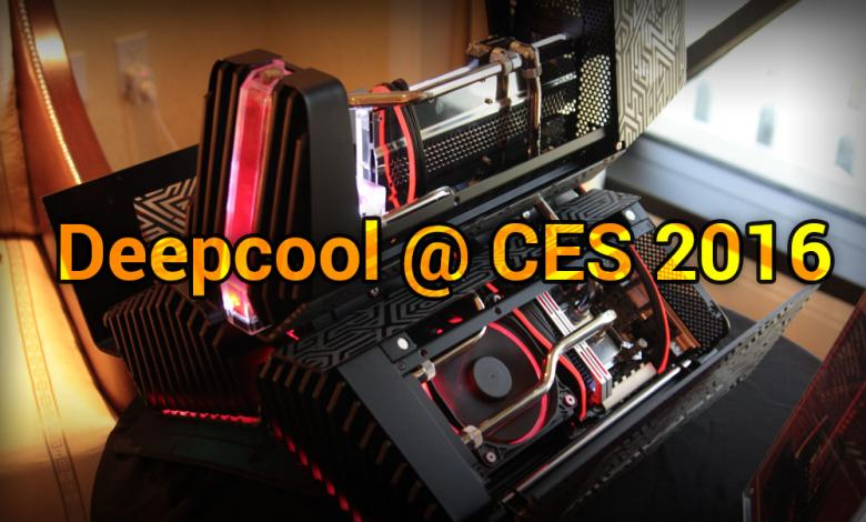 Photo of Deepcool @ CES 2016: Everything is Liquid Cooled