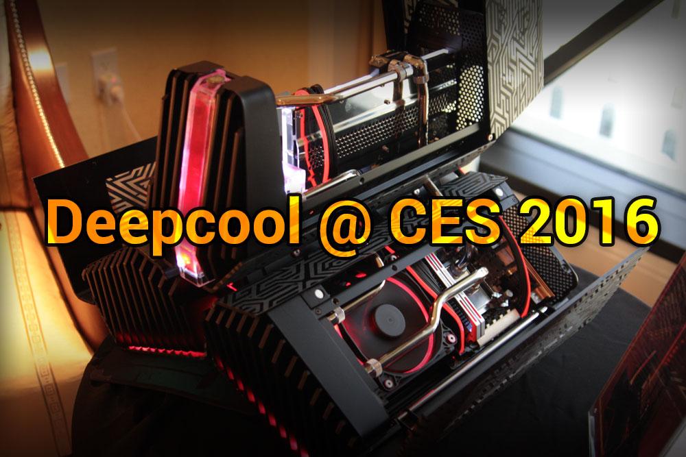 Deepcool @ CES 2016: Everything is Liquid Cooled casemod, Deepcool, dukase, tristellar 1