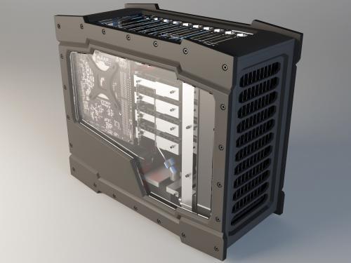 Modder Spotlight: Craig Brugger Case, case modding, craig brugger, history, modder spotlight, modding, sff, small form factor 9