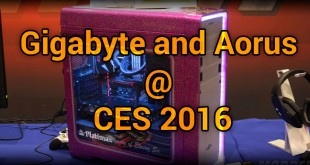 Gigabyte and Aorus @ CES 2016
