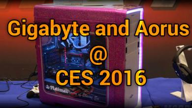 Photo of Gigabyte and Aorus @ CES 2016