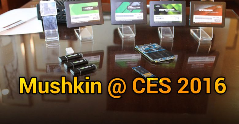 Photo of Mushkin @ CES 2016: Bigger, More Affordable Storage