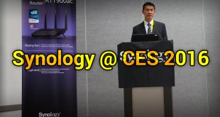 synology @ CES 2016