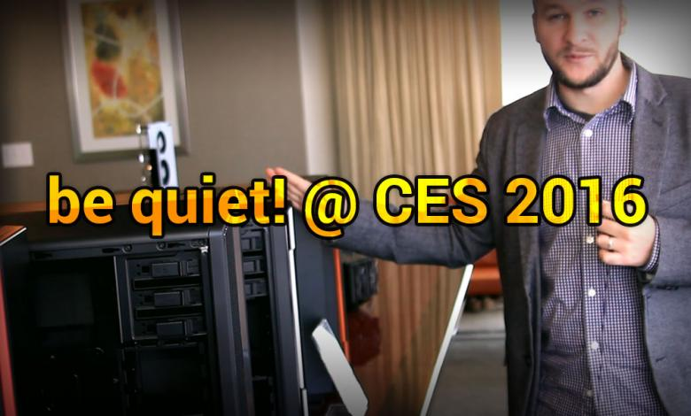 Photo of be quiet! @ CES 2016: Refining Silence