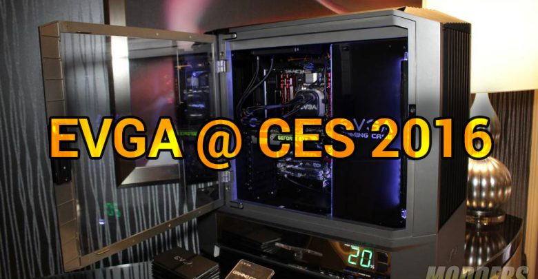 Photo of EVGA @ CES 2016: Gaming Case, Quick-disconnect Expandable AIO, High-End Audio and Gaming Laptops