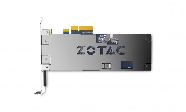 Photo of ZOTAC Enters PCI-E NVMe Arena with New SONIX SSD