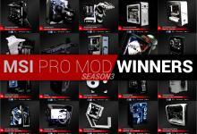 MSI PRO MOD S3 Winners