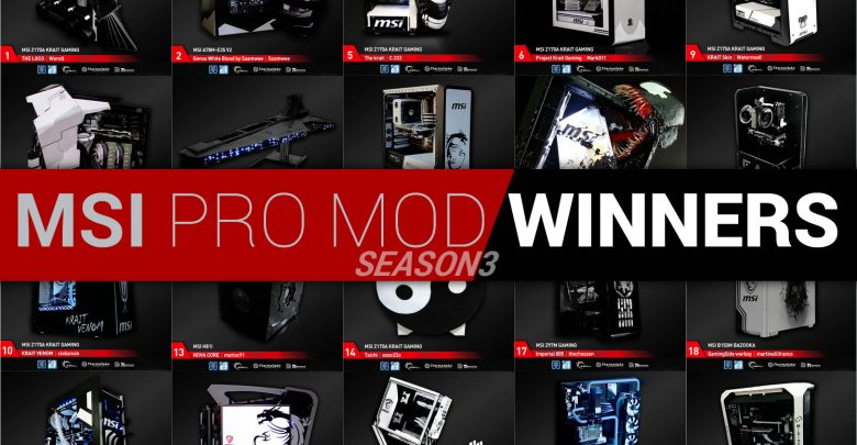 Photo of MSI PRO MOD Season 3 Winners Revealed