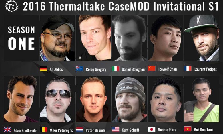 Photo of Thermaltake 2016 Casemod Invitational Season 1 Launched