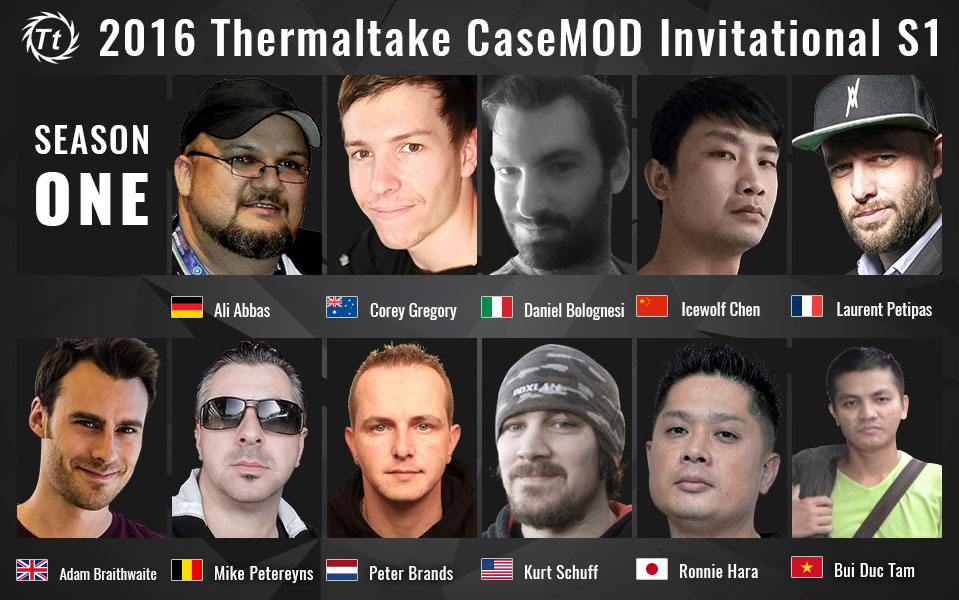 2016 Thermaltake Case MOD Invitational Season 1