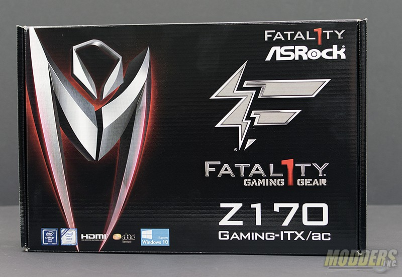 ASRock Fatal1ty Z170 Gaming-ITX/AC Motherboard Review — Modders-Inc