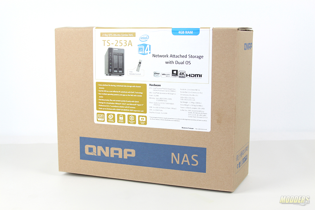 QNAP TS-253A Network Attached Storage Review — Modders-Inc