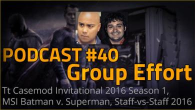 Photo of Podcast #40 – Group Effort