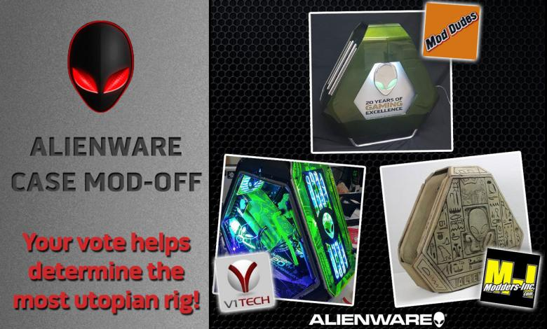 Photo of Alienware DIY Case Mod-Off Contest Voting Begins