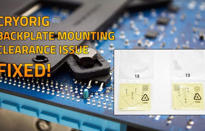 Cryorig alternate mounting fix