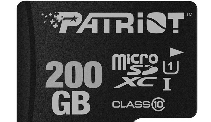 Photo of Patriot Offers Massive 200GB Storage on a Tiny microSDXC Package