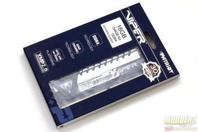 Patriot Viper Elite DDR4 packaging