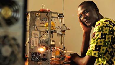 Photo of #INSPIRATION: West African Inventor Creates $100 3D Printer from E-Waste