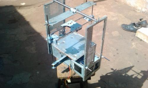 #INSPIRATION: West African Inventor Creates $100 3D Printer from E-Waste DIY 3D Printer