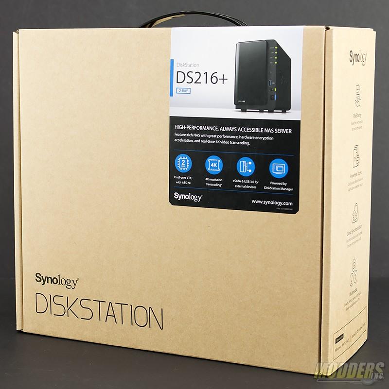 Synology DiskStation DS216+ NAS Review Intel, NAS, networking, RAID 0, RAID 1, Storage, Synology 1