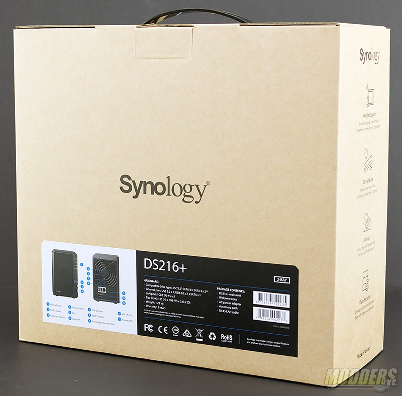 Synology DiskStation DS216+ NAS Review — Modders-Inc