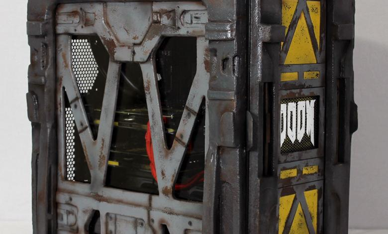 Photo of DOOM 2016 Case Mod by Dewayne Carel