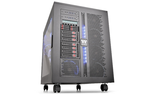 Photo of Thermaltake W200 Series Super-Tower Chassis Now Available