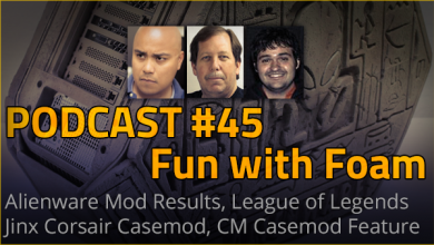 Podcast #45 - Fun with Foam