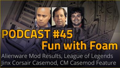 Podcast #45 - Fun with Foam