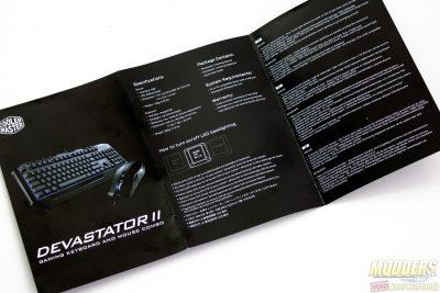 Cooler Master Devastator II Keyboard+Mouse Combo Manual