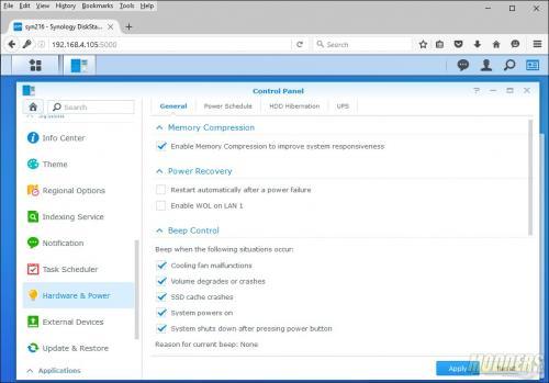 Synology DiskStation DS216+ NAS Review Intel, NAS, networking, RAID 0, RAID 1, Storage, Synology 8