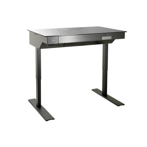 Lian Li's Computer Desk Line Now has Standing Desk DK-04 aluminum, Case, desk, dk-04, Lian Li, standing 2