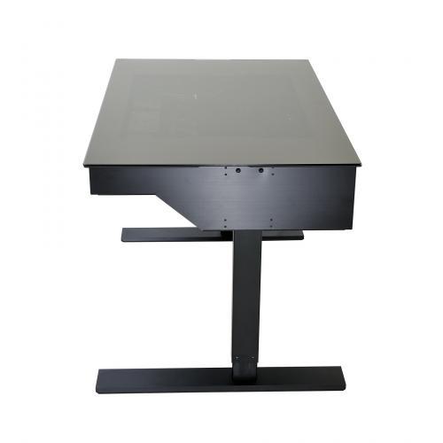 Lian Li's Computer Desk Line Now has Standing Desk DK-04 aluminum, Case, desk, dk-04, Lian Li, standing 5