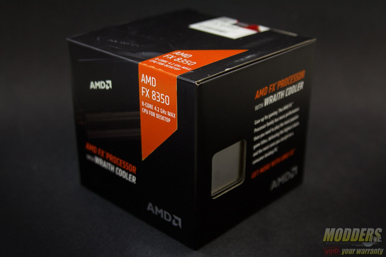AMD FX 8350 CPU with Wraith Cooler Review: Stock Cooling