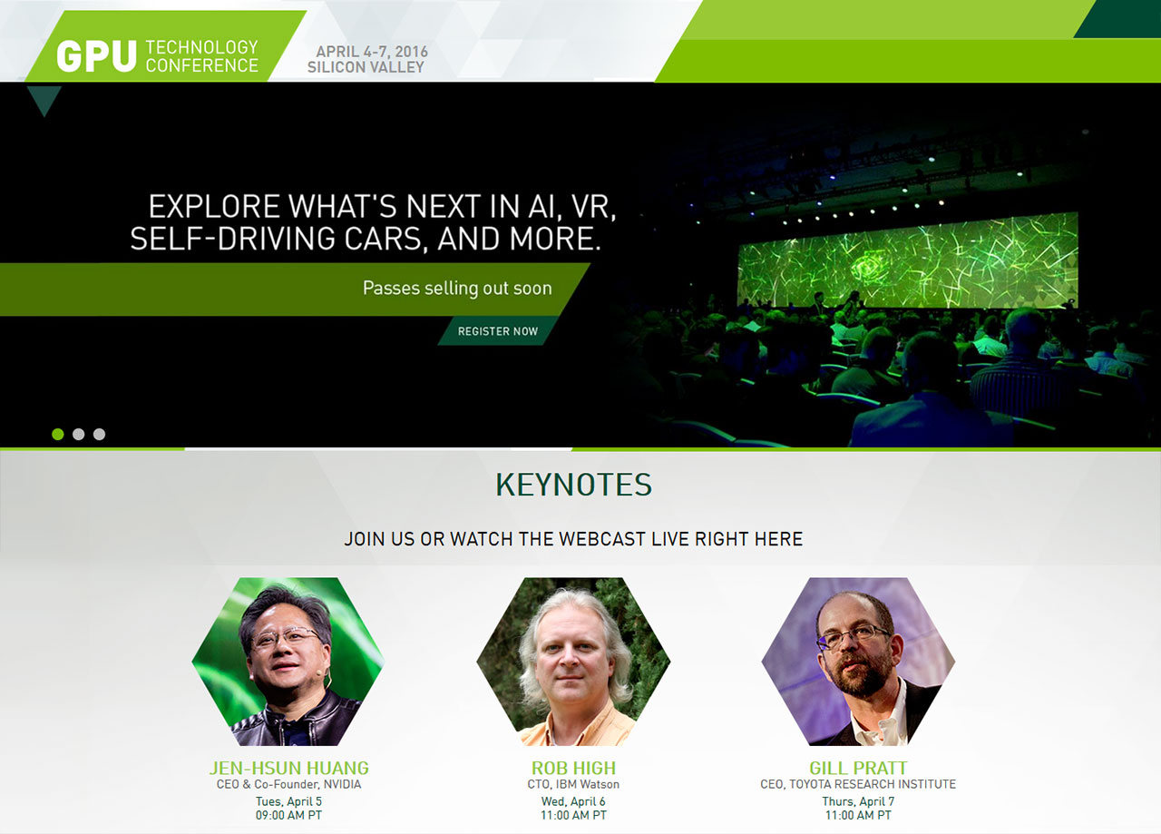 What to Expect from NVIDIA's GTC 2016 April 4-7, 2016 — Modders-Inc