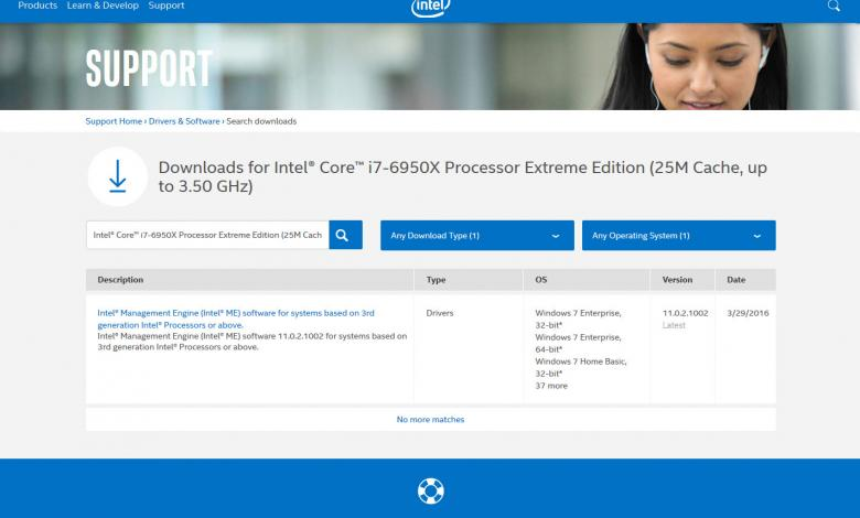 Photo of i7-6950X Broadwell-E CPU Spotted on Intel's Website